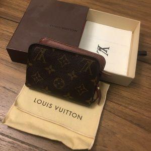 Authentic Louis Vuitton Compact Insolite Wallet